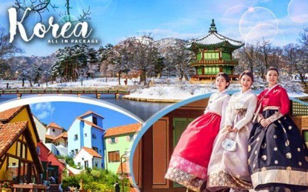 paket tour korea